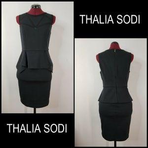 Thalia Sodi Woman Sleeveless Stretch Peplum Dress